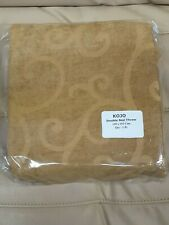 Marriott Double Full Bed Throw by Koni Gold Wheat Kojo