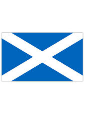 Giant Rugby 6 Nations Scotland Saltire St Andrews Cross Scottish Flag 5Ft X 3Ft