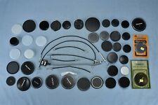 Mixed Lot Camera Parts Lens Caps Rings Vivitar Hoya Enteco Ednalite Soligor 0040