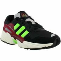 Adidas Yung-96 EE7247 Men's Running Shoes Black Green Burgundy Sz 11.5 MSRP $100