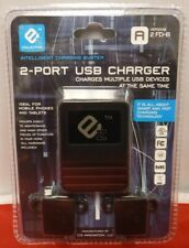 2-Port USB Charger, Charges Multiple USB Devices at the same time (B-1)