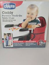 Chicco Caddy Portable Hook-On Table Chair Red