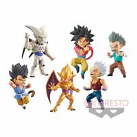 Dragon Ball GT World Collectable Figure WCF vol.4 All 6 type set Japan F/S NEW