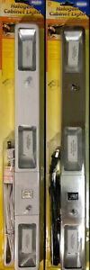 "Westek 75W Halogen Cabinet Light 20"" White/Nickel"