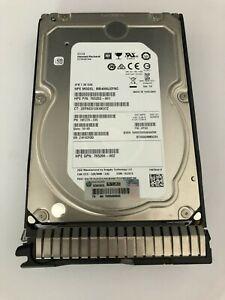 HPE 4TB 12G SAS 7.2K RPM LFF 3.5-INCH SC MIDLINE 512E HDD 765257-B21 765863-001