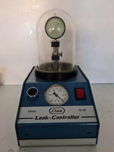 Elma leak controller. Dichtigkeitsprüfgerät für Uhren. Uhrmacher