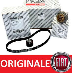 KIT CINGHIA DISTRIBUZIONE + POMPA ACQUA ORIGINALE FIAT 500 1.4 ABARTH DAL 2008