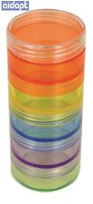 Aidapt Stackable Pill Tablets Dispensing Tower Medication Storage