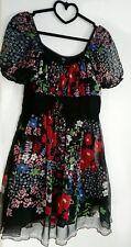 Kleid Asos gr.34-36 Damen Blume Dress