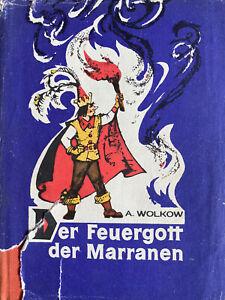 DER FEUERGOTT DER MARRANEN,  Verlag Progress Moskau, DDR Ausgabe 1974 A. WOLKOW