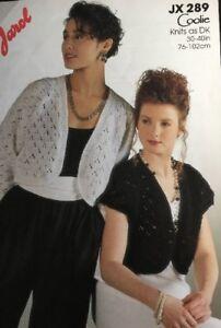 """Jarol  Knitting Pattern  DK ladies Bolero   shrug DK Size 30/40"""""""