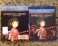 Spirited Away (Blu-Ray + Dvd)New Authentic Us Release