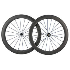 Handbuild Carbon 60mm Wheel Road Bikes 700C Clincher Shimano 9/10/11s Compatible