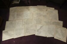 More details for 1844 atlas of 64 maps by the sduk world on mercator russia spain greece turkey