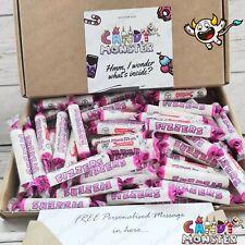 50 x Swizzels FIZZERS Sweet Hamper Gift Box Retro Mix Personalised Letterbox