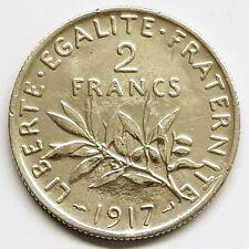 2 Francs semeuse Argent 1917 SUP
