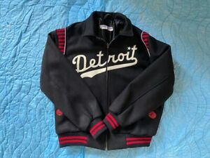 1950 Detroit Stars Negro League Ebbets Field Flannels Jacket Size Large