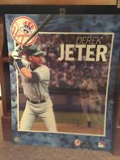 NY Yankees Derek Jeter Motion 3D Poster (16 x 20) Hall of Fame Collectible