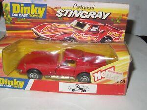 DINKY TOYS - 206 CUSTOMISED CORVETTE STINGRAY MIB MINT/PERFECT