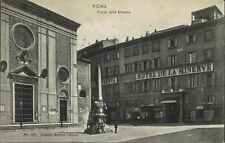 ROMA - Piazza della Minerva - Negozi - Carrozze - VIAGGIATA 1906 - Rif. 531 PI