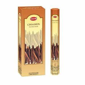 HEM Cinnamon Incense Sticks - Pack of 6 (120gm)