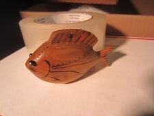 DICK DON TRUDELL  ICE  FISHING SPEARING DECOY CONTEMPORARY XMAS ORNAMENT  90  22