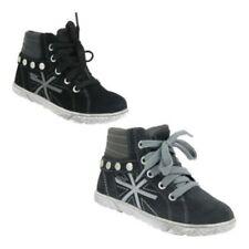 Chaussures moyens à lacets pour fille de 2 à 16 ans, pointure 28