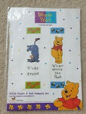 Winnie the Pooh E14/16 Eeyore & Pooh Counted Cross Stitch Bookmark Kit