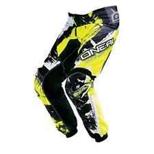 ONeal Element KINDER MX Hose SHOCKER Gelb Moto Cross Mountainbike MTB Enduro DH