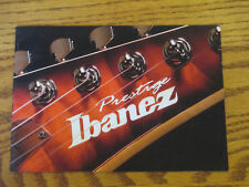 IBANEZ 2006 PRESTIGE GUITAR CATALOG BOOK