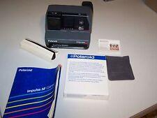 Film Tested Vintage Working Polaroid Impulse AF Flash 600 Instant With Film Case