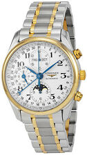 L2.773.5.78.7   BRAND NEW LONGINES MASTER COLLECTION GOLD & STEEL MEN'S WATCH