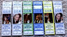 VINTAGE INDIANA PACERS LOT OF 6 TICKET STUBS 1983-84 BULLS,NETS,JAZZ,MORE - MINT