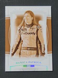 2020 Panini National Treasures Holo Silver #88 Danica Patrick SN 03/15