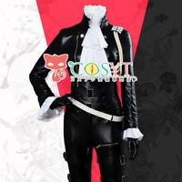 PROMARE Lio Fotia Mad Burnish Cosplay Costume Halloween Leather Uniform Suit
