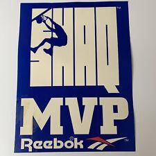 Vintage ORLANDO MAGIC SHAQUILLE O'NEAL SHAQ MVP Reebok 1993-1994 '95 GAME SIGN