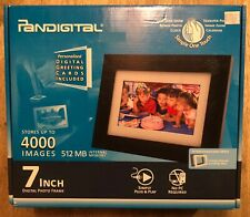 "Pandigital 7"" LCD Digital Picture Photo Frame Black PI7056AWB"
