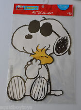 Snoopy Joe Cool large 12 inch Sticker Sealed Mfg