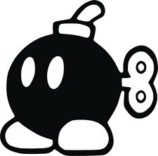 STICKER - Mario Bomb - Laptop decal - Vinyl - Vinilo - Pegatina - Tablet -Iphone