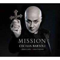 """CECILIA/FASOLIS,DIEGO/I BAROCCHISTI BARTOLI """"MISSION (LTD.DELUXE EDT)"""" CD NEU"""