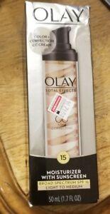 Olay Total Effects Tone Correcting CC Cream SPF 15 - 1.7 fl oz - DAMAGED BOX