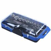 23 in 1 Precision Mini Ratchet Screwdriver Bits Set Sockets Repair Tool Kit B9C4