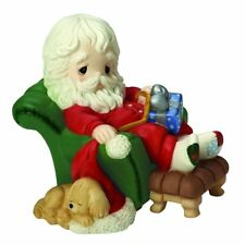 """Precious Moments, Christmas Gifts, """"And To All A Goodnight�, 8th in Annual Santa"""