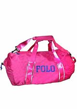 NWT Polo Ralph Lauren Large carry-on duffle bag pink packable