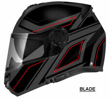 NEW T27 BLINC Bluetooth Motorcycle DOT Helmet Fog Free MP3 GPS iPhone Compatible