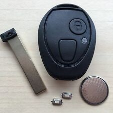 Rover 75 MG ZT ZTT MINI 2 Button Remote key FOB Case Full Repair kit + switch