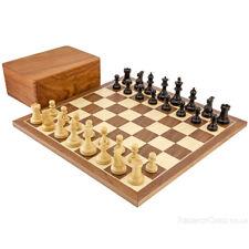 Concorrenza Staunton Noce Set di scacchi