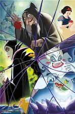 DISNEY VILLAINS - COLLAGE POSTER - 22x34 - MOVIES 15486