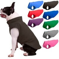 Small Pet Dog Warm Fleece Vest Coat Puppy Sweater Winter Jacket Apparel Clothes