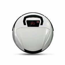 Robotic Vacuum Cleaner, EVERTOP Smart Cleaning Sweeper Carpet Floor Silver UK